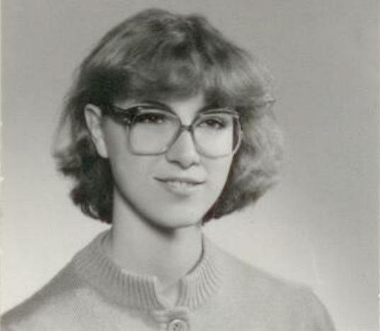 Takhle vypadala Renata na začátku osmdesátých let.