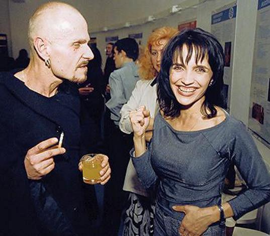 Lucie obdivovala nejen kolegovy herecké kvality, ale i ty lidské.