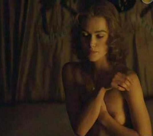 Keira Knightley se svlékla ve filmu Vévodkyně.