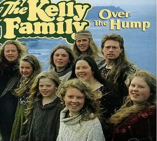 Jimmy Kelly (vpravo nahoře) na přebalu slavného alba Over The Hump.