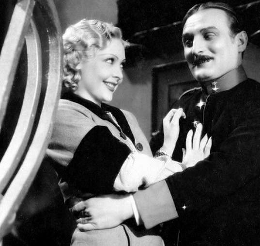 Truda Grosslichtová a Jiří Plachý st. ve filmu Jedenácté přikázání (1935)