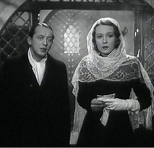 František Vnouček a Nataša Gollová ve filmu Rukavička. Chodili spolu tři roky, ale nebyl to šťastný vztah.