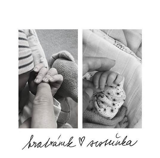 Gabrielin Vincent a Janina Simonka se narodili jen osm minut po sobě.