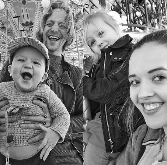 Tomáš Klus s rodinou, která mu změnila život.