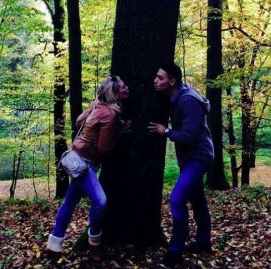 Už v říjnu se pochlubili fotkami z podzimních procházek.
