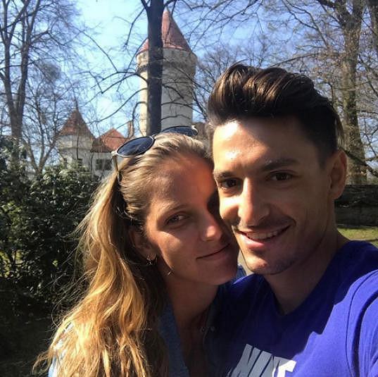 Karolína Plíšková a Michal Hrdlička jsou zasnoubení.
