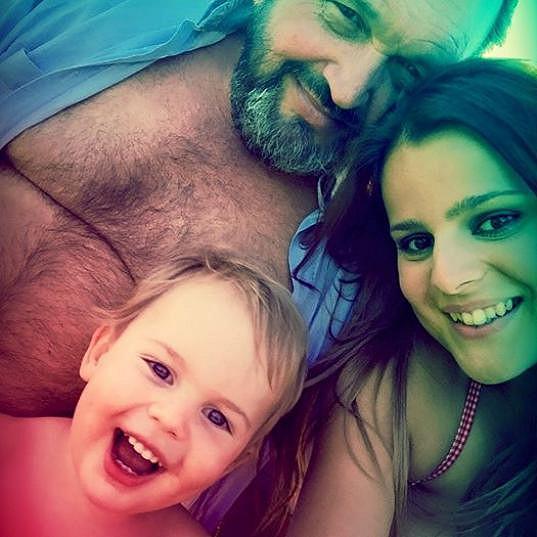 S manželem s synem