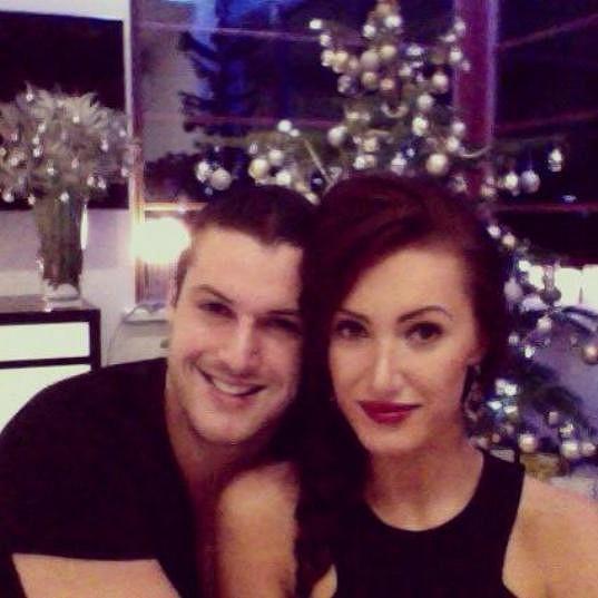 Táňa Makarenko s přítelem Zdeňkem Bahenským oslavili už třetí společné Vánoce.