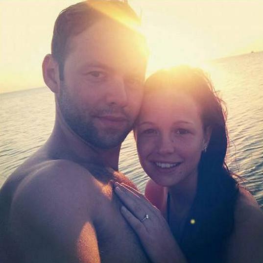 Michael a Eliška se loni v létě zasnoubili.