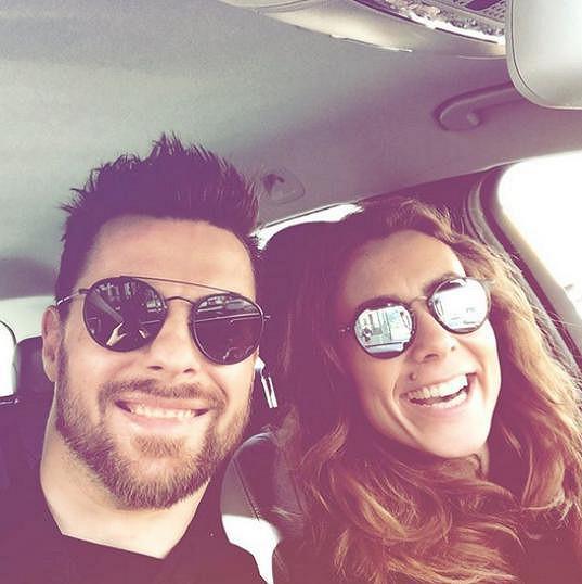 Michal Gulaši s přítelkyní
