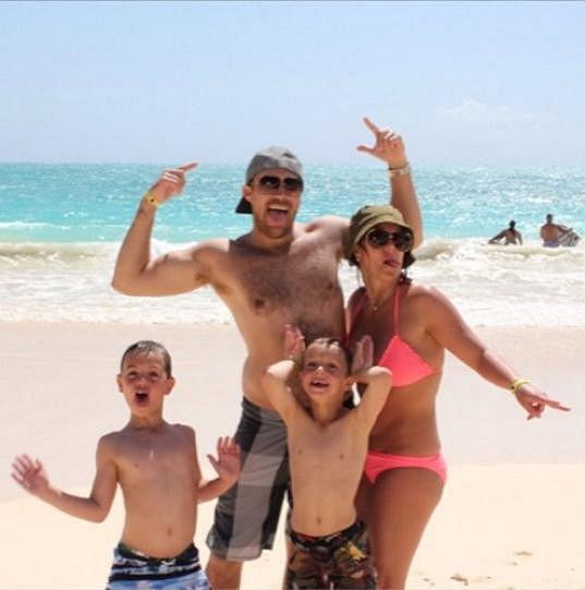 S Davidem Lucadem tvořila Britney donedávna spokojenou rodinku.