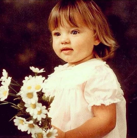 Malá princeznička Miranda Kerr