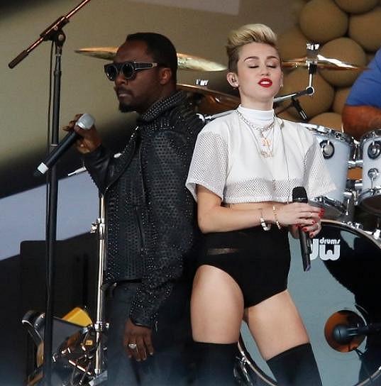 Miley to nejdřív zkoušela na Will.I.Ama.