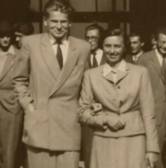 Tichánková a Skopeček se poznali před 64 lety.