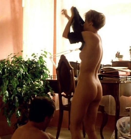 ...nebála se ukázat nahá.