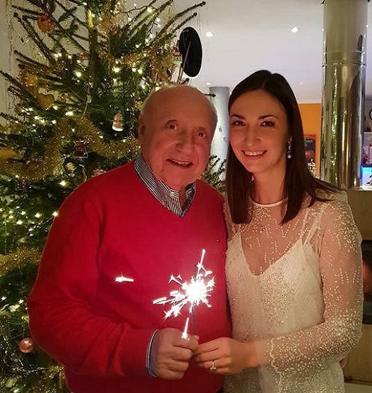 Slavili spolu i Vánoce.