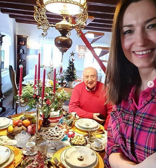 Lucie Gelemová slavila Vánoce s Felixem Slováčkem.