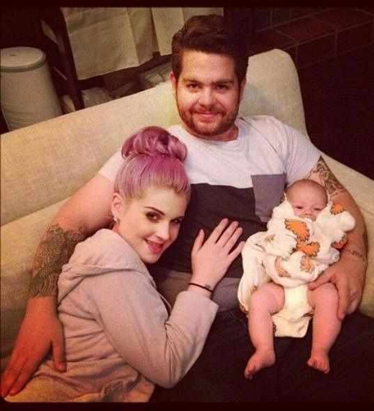 Jack se sestrou Kelly a svou prvorozenou dcerou Pearl