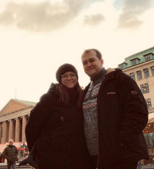 Eva s partnerem Kryštofem Vondráčkem