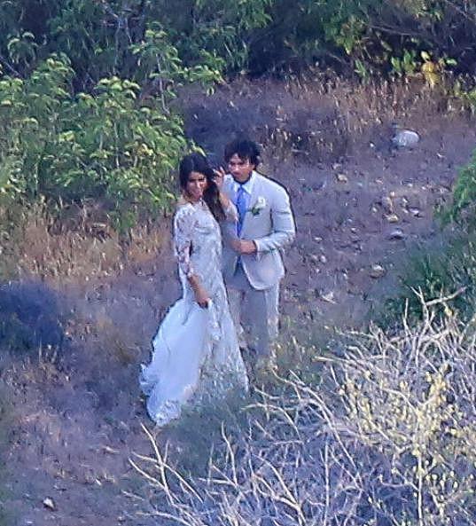 Herecké hvězdy měly svatbu jako z pohádky.