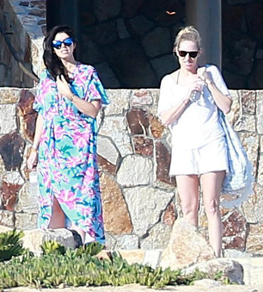 Katherine a Christina Schwarzenegger