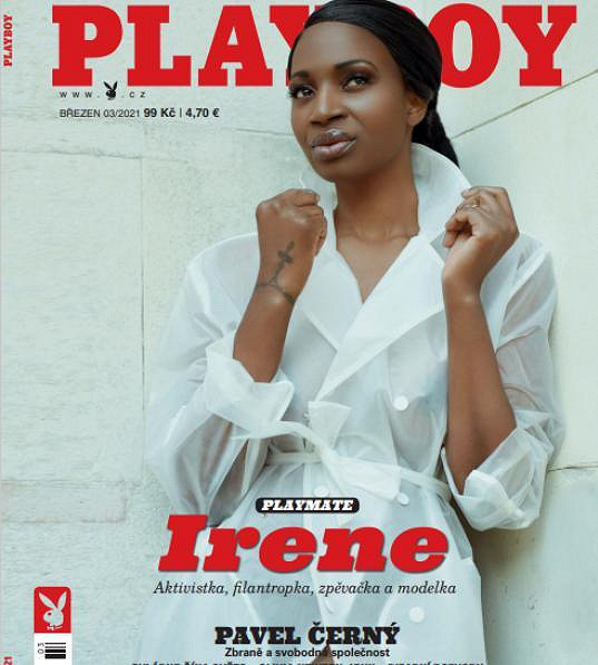 Irene Major ozdobila titulku březnového Playboye.