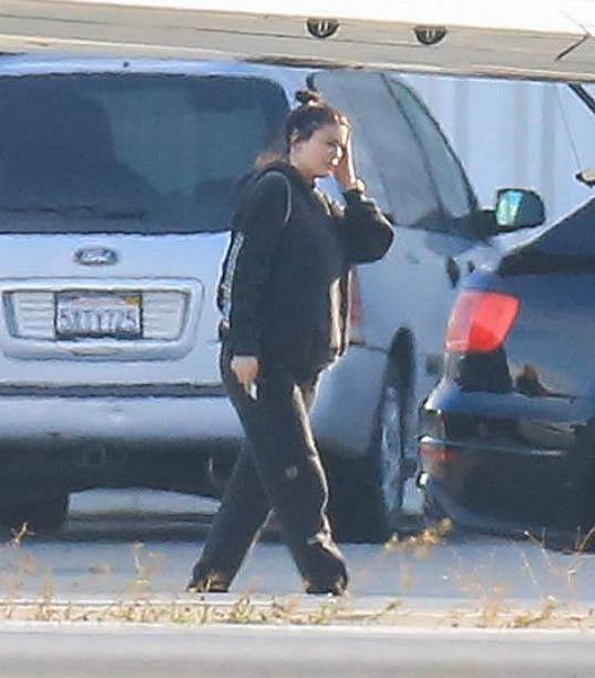 Kylie Jenner s těhotenským bříškem