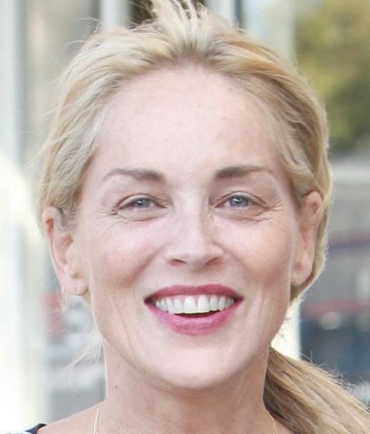 Sharon Stone může líčidla hodit do koše. I bez nich je krásná.