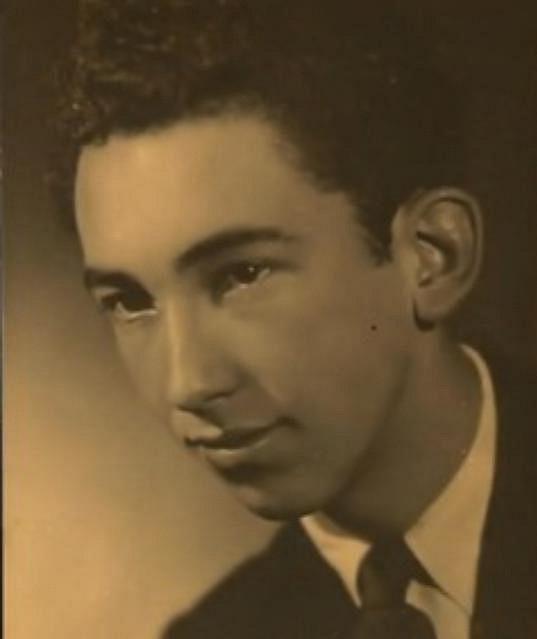 Luděk Kopřiva na fotce z mládí