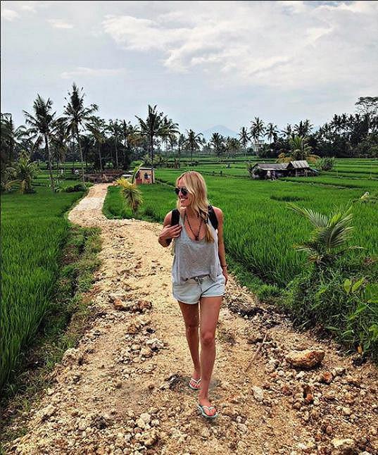 Výlet na rýžová pole