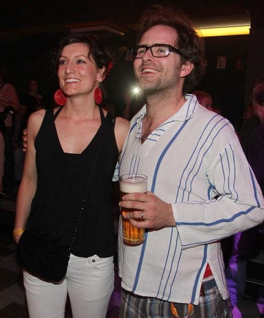 Ondřej s Annou vypadají spokojeně a šťastně.