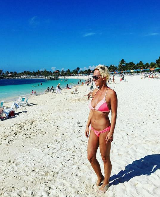 Zuzana Belohorcová vystavila sexy tělo na Bahamách.