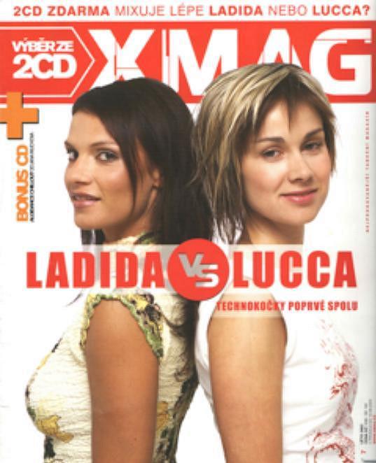 První focení Ladidy a Luccy před jedenácti lety pro časopis Xmag.