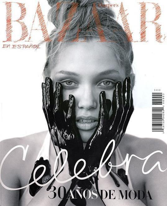 Na obálce španělského Bazaaru.