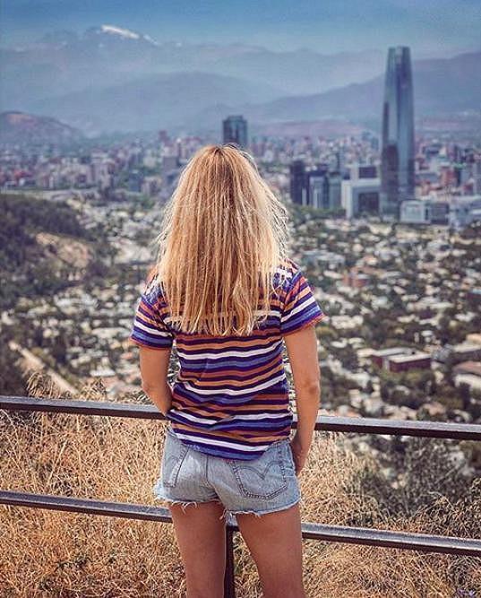 Na dovolenou vyrazila do Chile.
