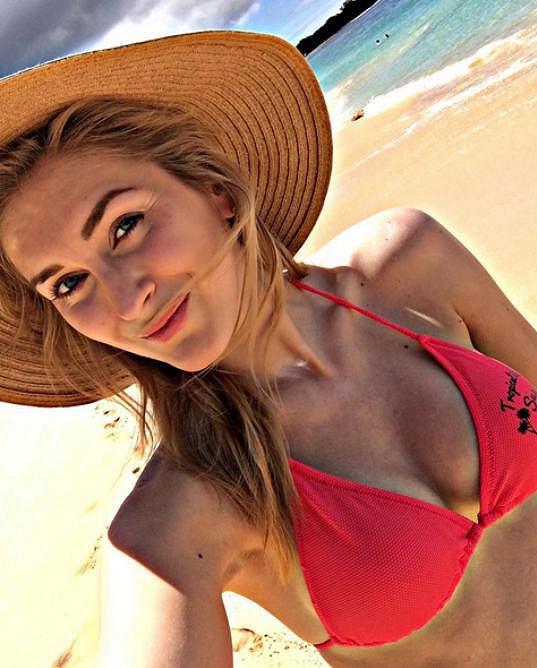 Zora Hejdová si užívá dovolenou na Havaji.