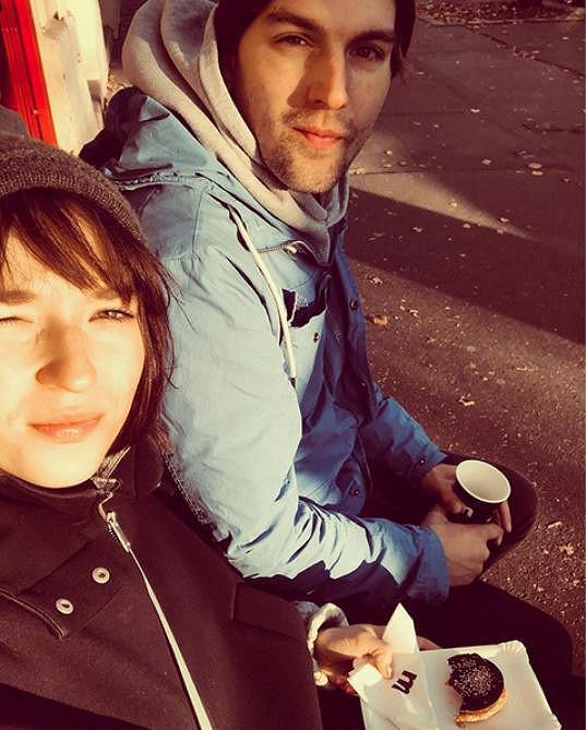 Berenika Kohoutová s přítelem Kryštofem