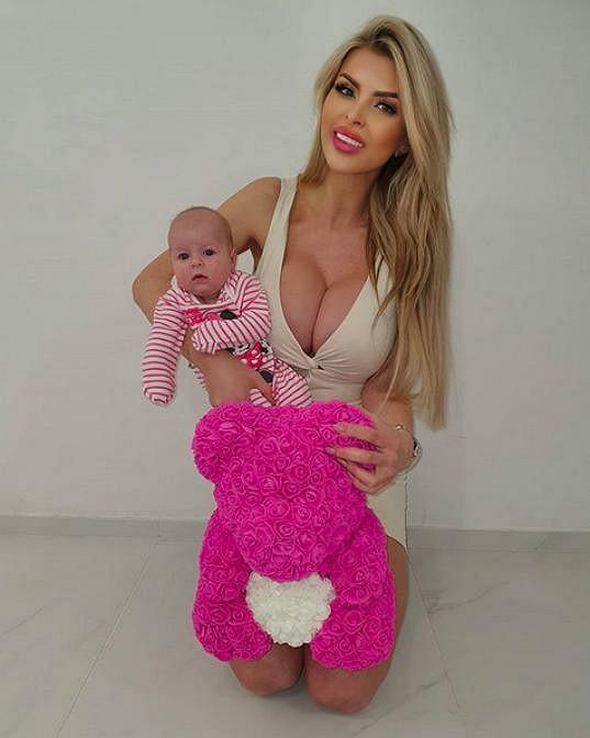 Lela Ceterová je maminkou dcery Lilinky.