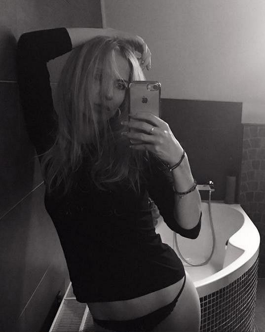 Michaela Ochotská a její sexy selfíčko