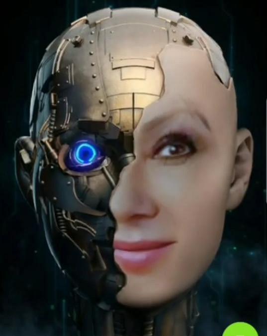 Nedávno přidala i video, na kterém vypadá jako robot.