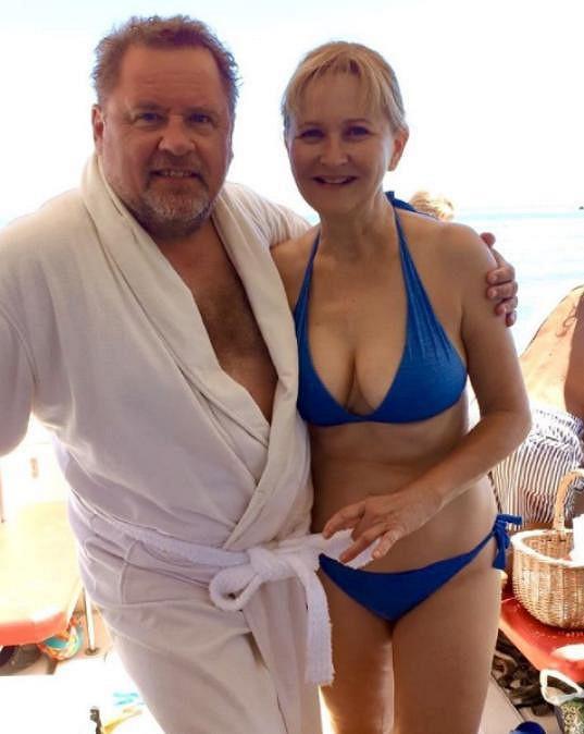 Václav Kopta si s manželkou Simonou užívá v Chorvatsku.