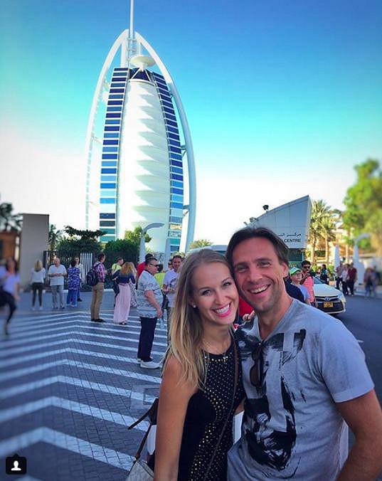 Petra a Roman si udělali výlet do Dubaje.
