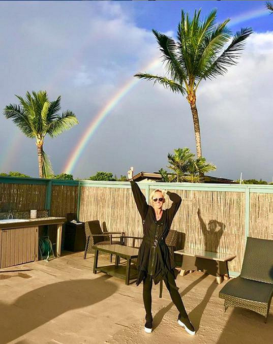 Počasí je nyní na Maui velmi proměnlivé.