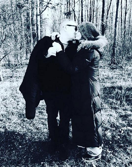 Eva Holubová s manželem