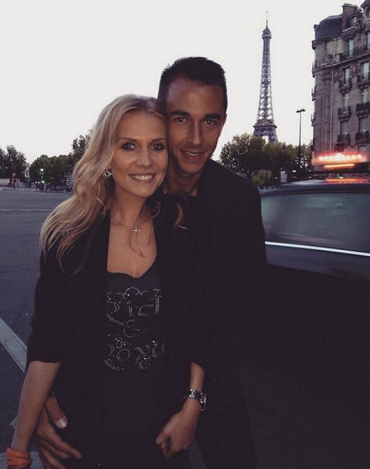 Michaela Ochotská s exmanželem Lukášem