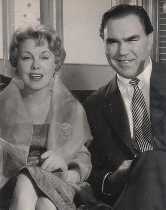 Anny Ondráková na konci padesátých let ve svém posledním filmu.