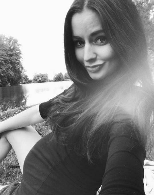Tereza Chlebovská bude brzy maminkou.