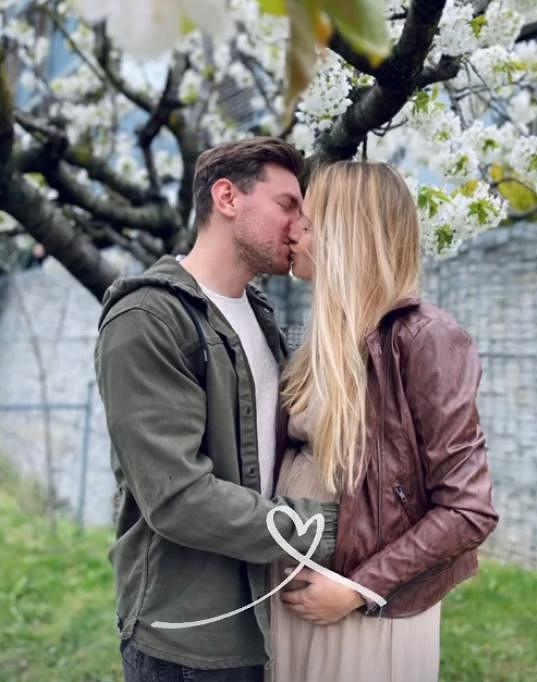 Modelka Veronika Kopřivová s partnerem