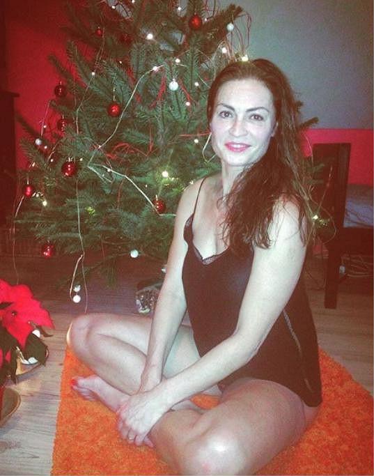 Hana Kynychová o Vánocéch necvičí.