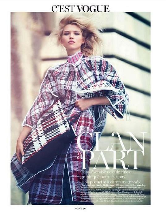 Ve francouzské Vogue